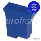 eurofrank ink cartridge blue for Pitney Bowes DM50, DM55 NetSet2 franking machine