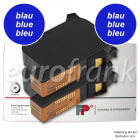 Francotyp-Postalia ink cartridge set blue for ultimail blue series (NetSet2) franking machine