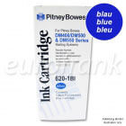 Pitney Bowes ink cartridge blue for DM400, DM500, DM550, DM800i series franking machine
