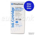 Pitney Bowes ink cartridge blue for DM800, DM900, DM1000 series franking machine